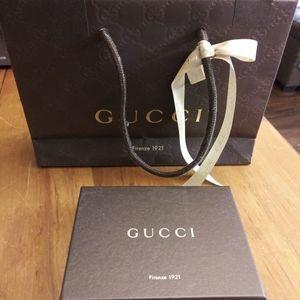 Gucci Wallet Box and Bag